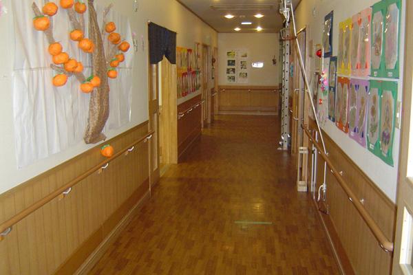 廊下兼訓練室